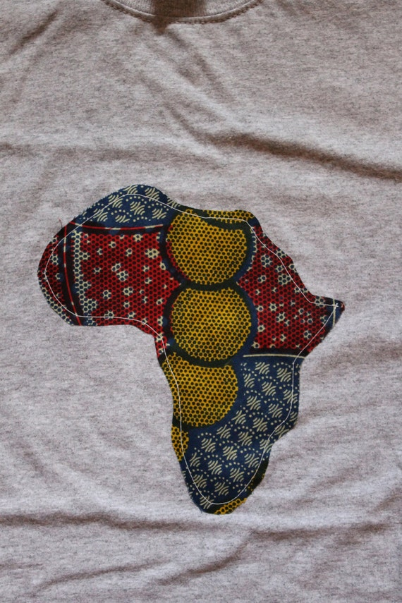 Big Africa Shirt- Medium