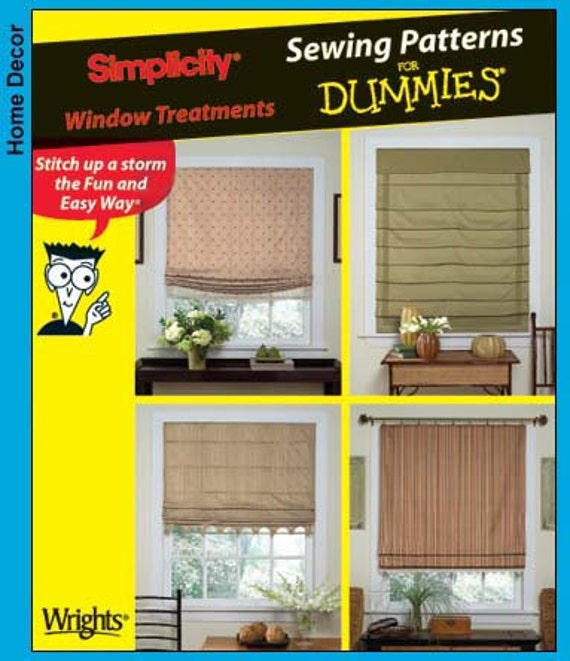 Simplicity Pattern 4357 Home Decor - Easy Pattern - Window Treatments NEW