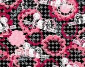 Cotton novelty fabric,  Urban Farm, by In the Beginning Fabrics