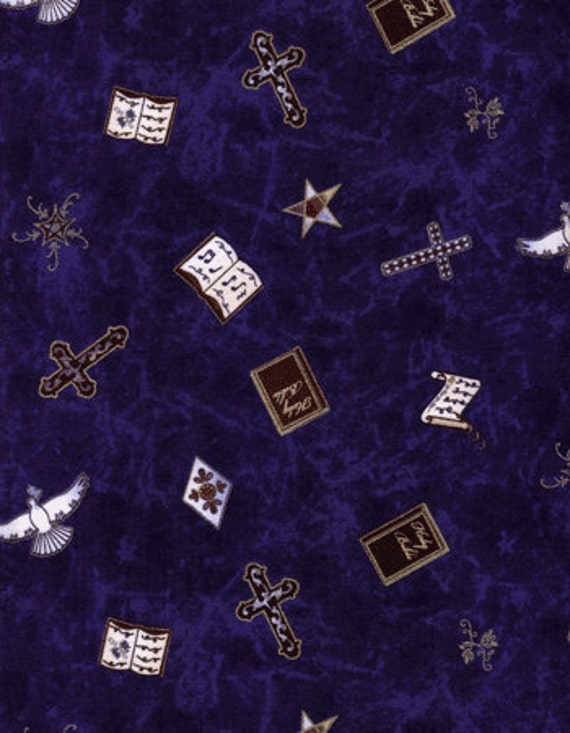 One yard cotton quilting fabric  A Wing and a Prayer  Timeless Treasures