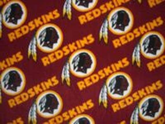 Cotton fabric, Washington Redskins, by Fabric Traditions