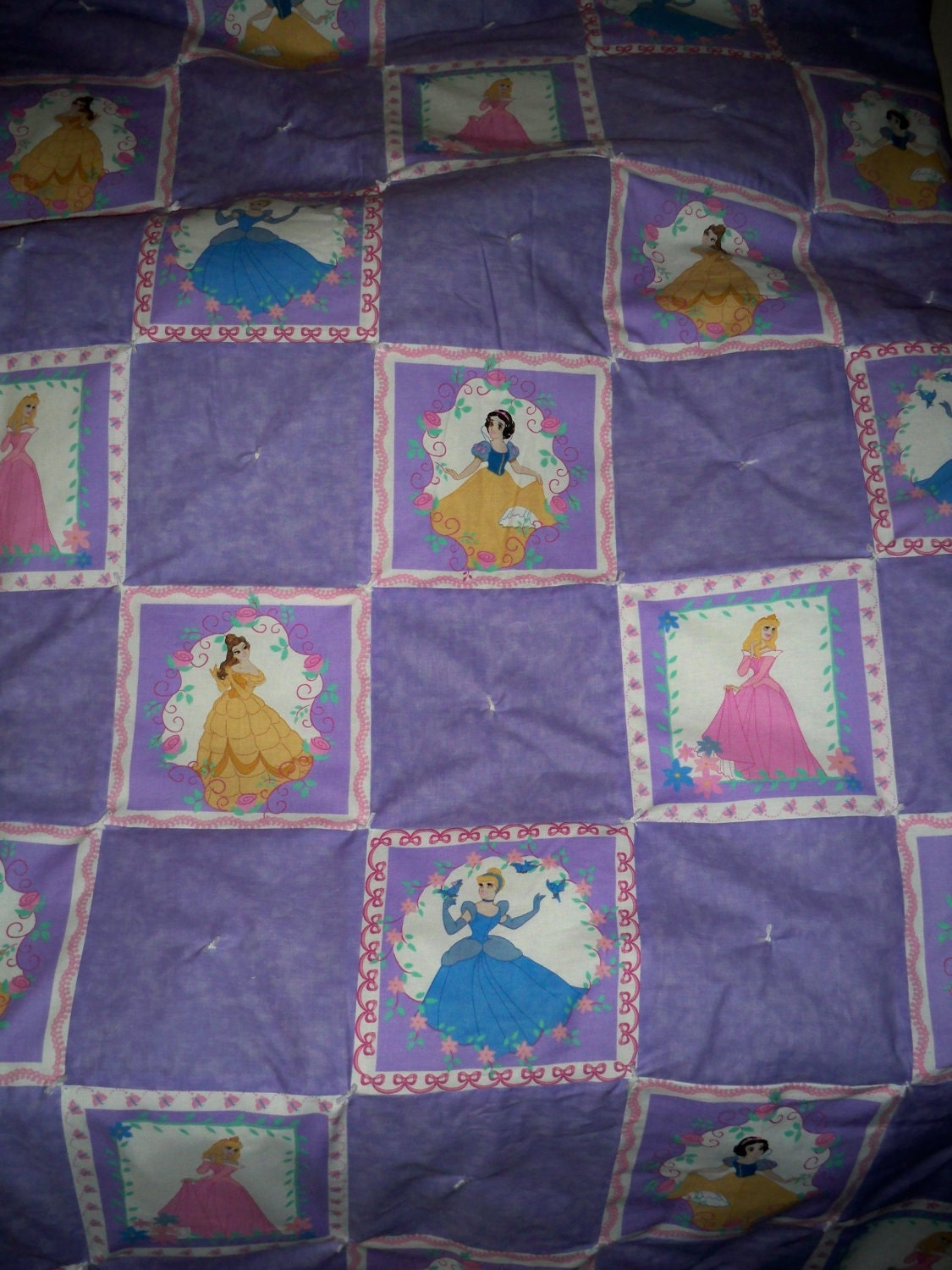 Girls Big Kid Disney Princess Quilt
