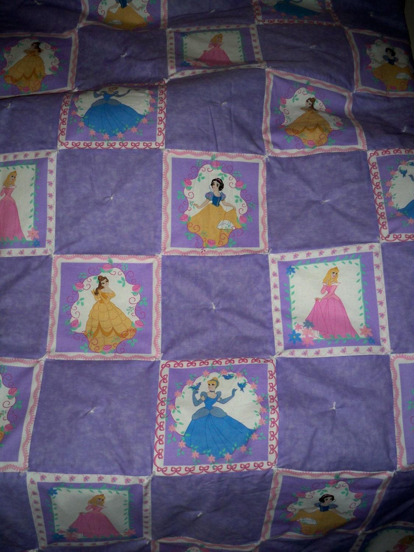 Girls Big Kid Disney Princess Quilt