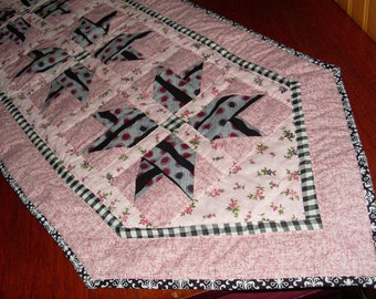Pink Table Runner, Made in America