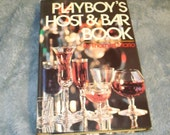 Vintage Playboy's Host & Bar Book Reserved for Helping Hearts
