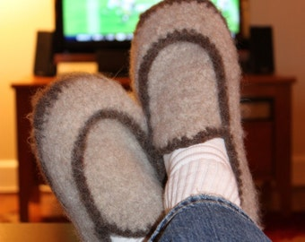 Mens Felted Loafer House Slipper Pattern