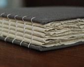 Coptic Bound Journal Made With Handmade Paper