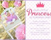 Little Princess Printable Invitation