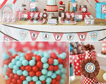 Sock Monkey Collection DIY Printables