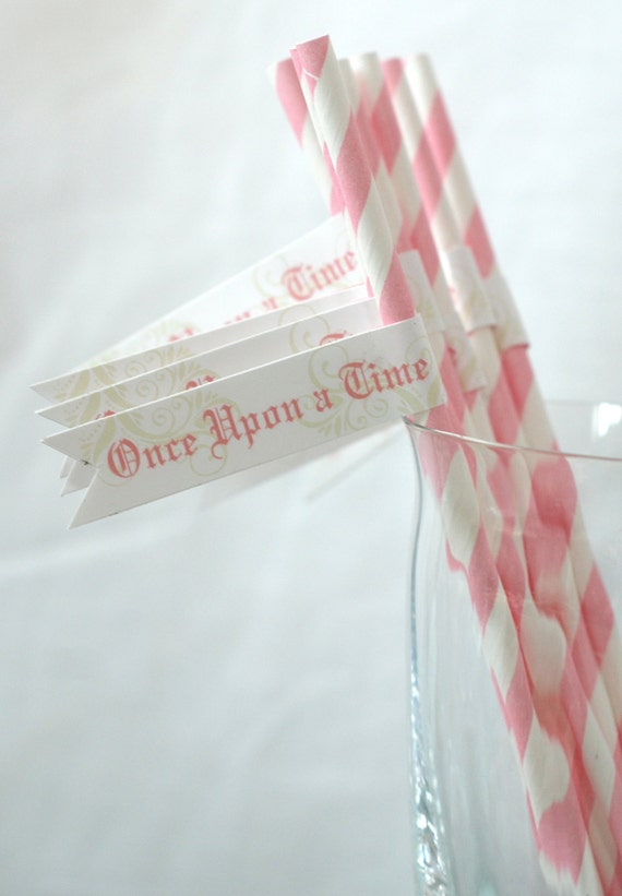 Customizable Fairy Tale Collection - PRINTABLE Party Flags by Itsy Belle