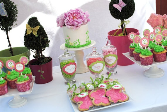 Garden Fairy Collection - DELUXE PARTY PACKAGE by Itsy Belle