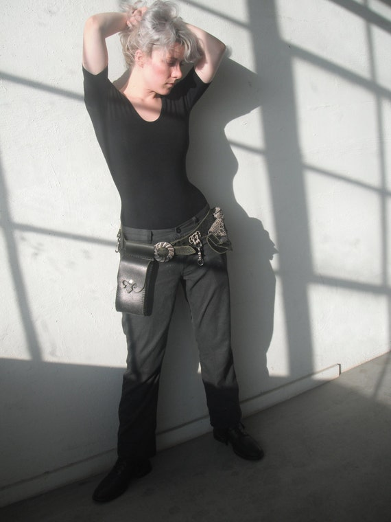 Winward Bound Leather Utlity Belt