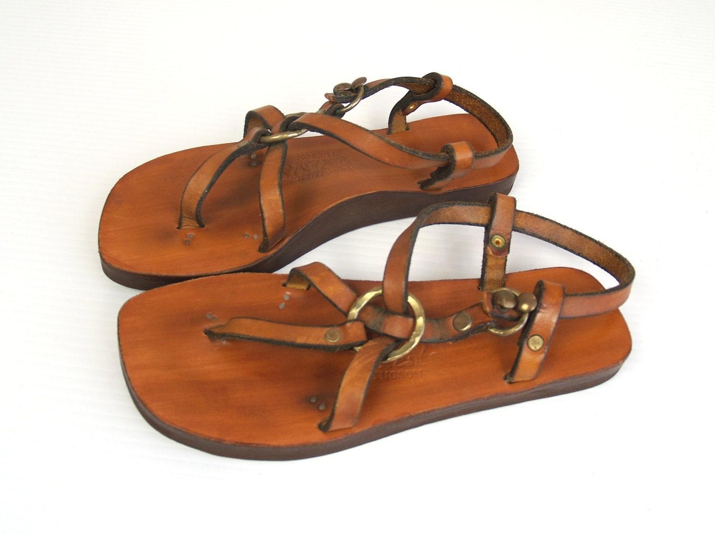 Hippie Jesus Unisex Leather Gladiator Sandals | eBay |Hippie Mens Leather Sandals
