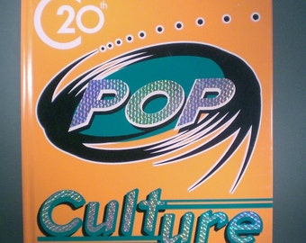 Book 20th Century Pop Culture Entertainment History Library Reading Non-Fiction