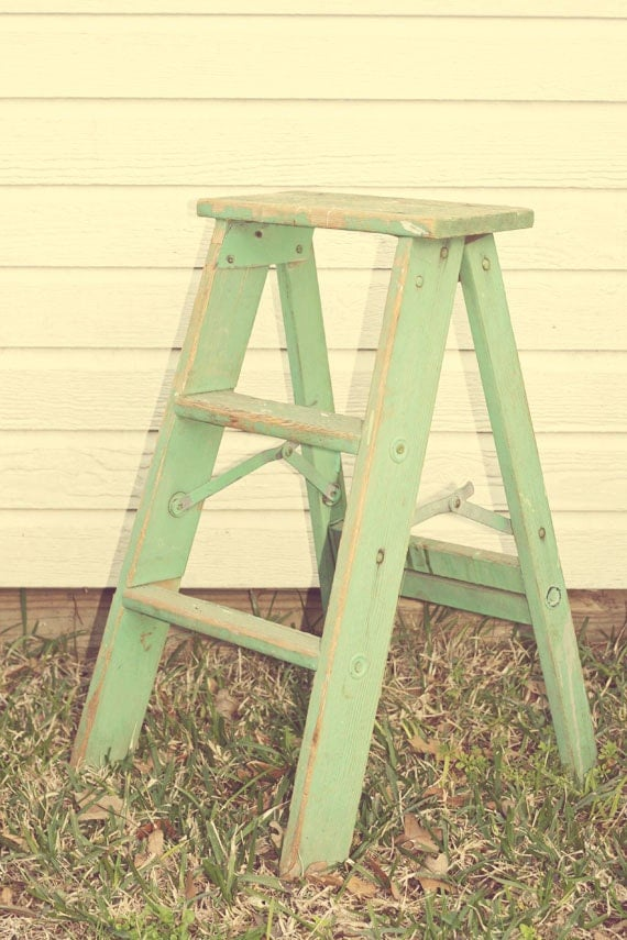 Vintage small ladder