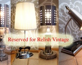 RESERVED////for RelishVIntage/////RESERVED