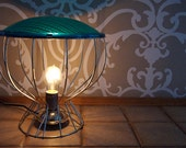 GO-LIGHT : Table lamp from a green stoplight