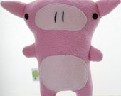SALE - Stuffed Pig - Peggy the Pig (Tree House Owl Collection)