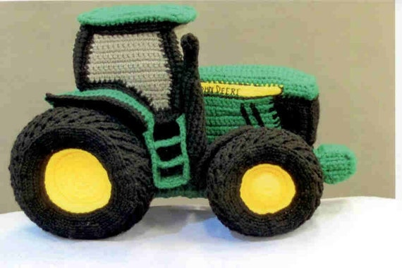Items similar to John Deere Tractor pattern on Etsy