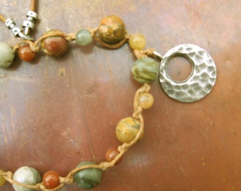 Picasso Jasper and Agate Necklace