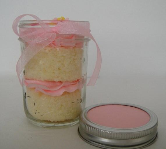 Items Similar To Birthday Cake Surprise Jar Cake