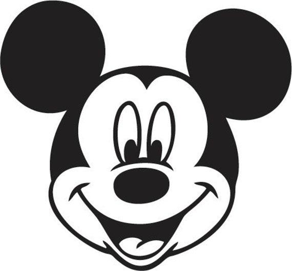 Cara Mickey Mouse a color - Imagui