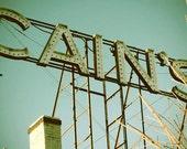 Photography Art - Tulsa - Cain's Ballroom - Vintage Neon Sign