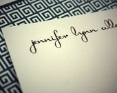 Personalized Stationery - Modern Turtle