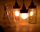 Vintage Masor Jar Lantern