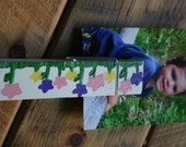 Jumbo clothespin magnet/picture holder