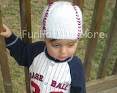 Baseball  baby beanie,  please check my listing for additional sizes