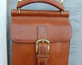 Leather G.H. Bass Mini Purse / Crossbody Bag