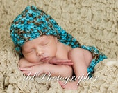 Crochet Baby Hat and Diaper Cover Set/ Newborn Photography Prop/ COMPLIMENTARY SHIPPING