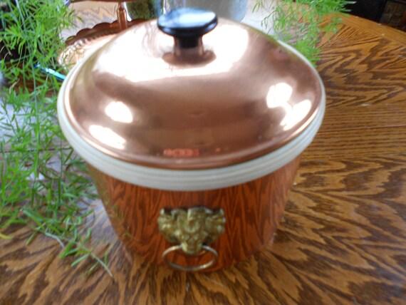 Cool Copper Vintage Ice Bucket