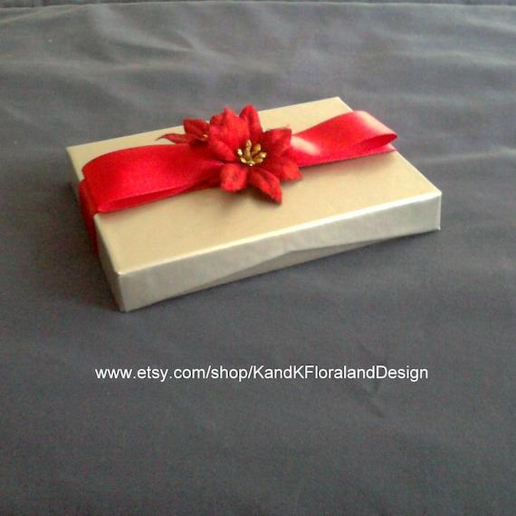 Clearance Sale-Christmas Gift Card Box-Holiday-Handmade