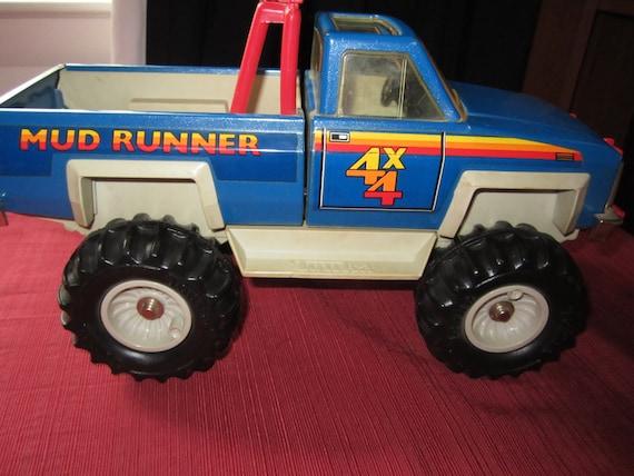 Tonka Truck 4 X 4 Blue Mud Runner