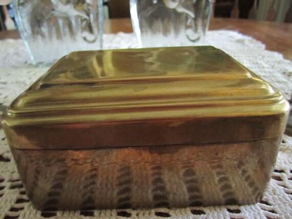 Brass Rectangular Box