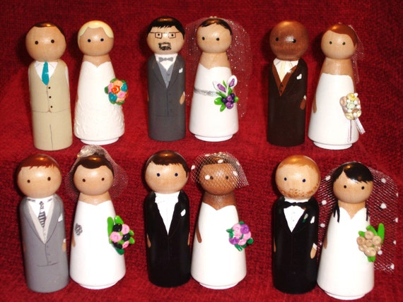 Custom  Collection Wedding Cake Toppers-Uniquely Customized
