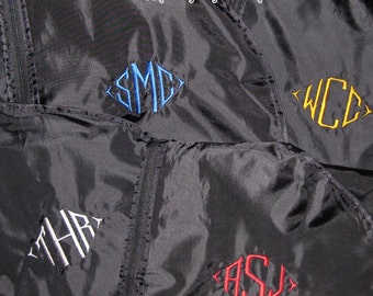 Monogrammed Garment Bag-Great Gift for Dads and Grads