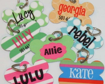Custom Pet Tag - New Puppy Tag - Dog Tag - Personalized Pet Tag - Pet ID Tag - Dog identification tag
