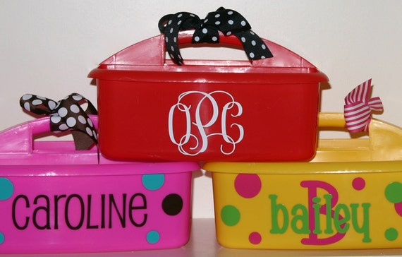 Personalized Caddy - Great for Camp or Graduation