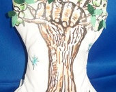 "Book Reading Tree Pillow Buddy of the ""Knock-On Wood Tree"" (tm) Character"