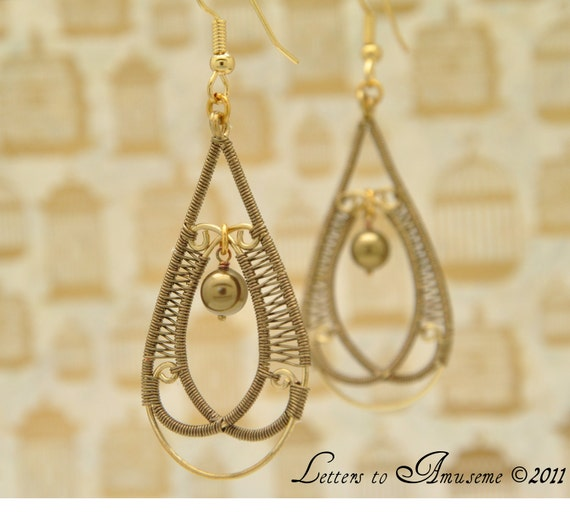 The Way I See it Earrings- Reserved for Ute McClain