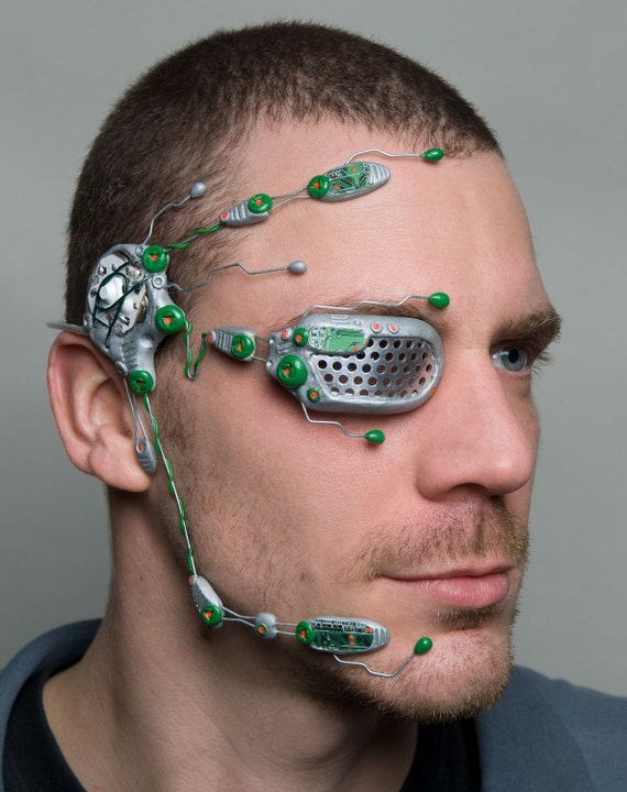 Circuit armour cybernetic head system