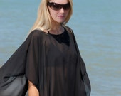Caftan Beach Poncho Tunic Swimsuit Cover up