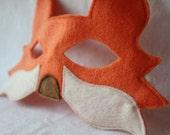 Orange Fox Mask- CHILD