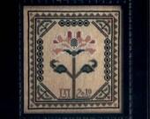 Sarah Lowell - cross stitch kit by La-D-Da