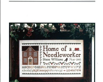 Little House Needleworks: Home of a Needleworker - Cross Stitch Kit