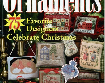 Just Cross Stitch Magazine: Christmas Ornaments 2006 - Annual Holiday Issue