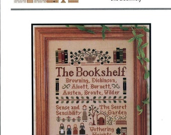 Little House Needleworks: The Bookshelf  (OOP) - Cross Stitch Pattern